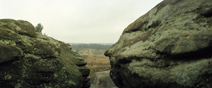 Devils Den Photograph - Snipers Nest by Jan W Faul