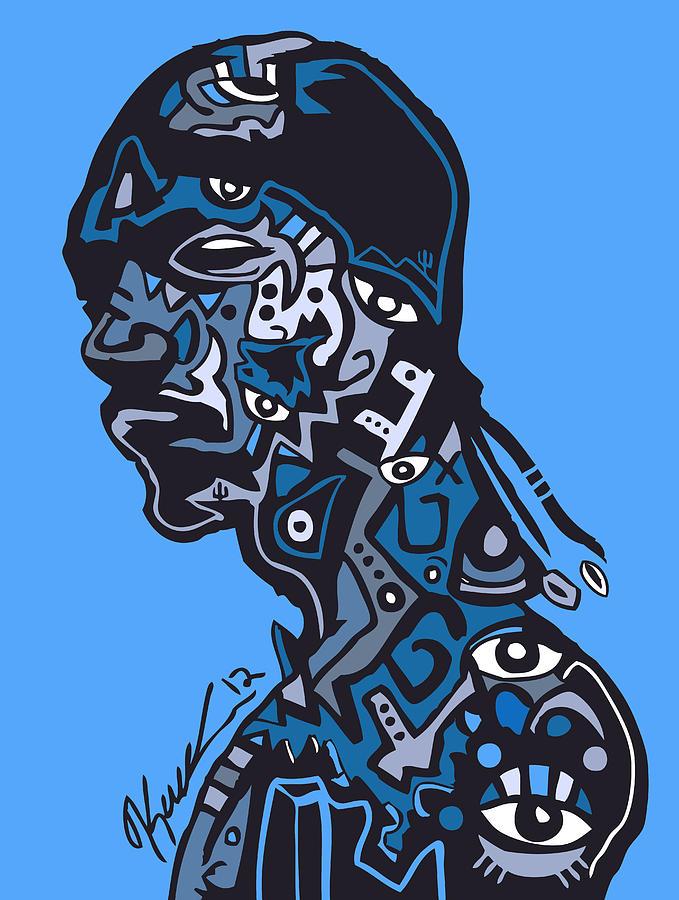Snoopdogg Digital Art - Snoop Dogg by Kamoni Khem
