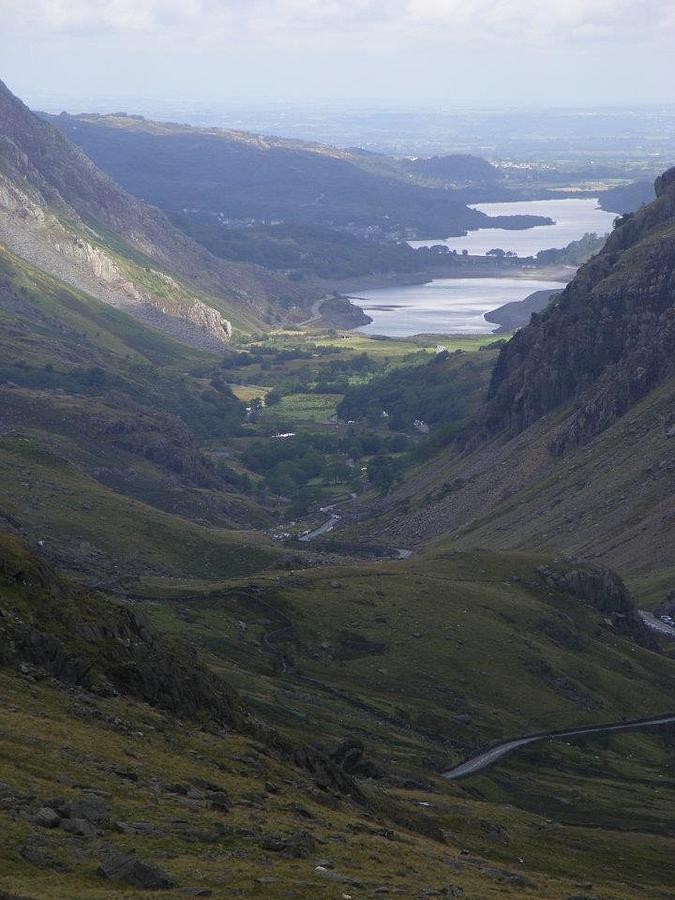 Wales Photograph - Snowdon by Clare Staplehurst