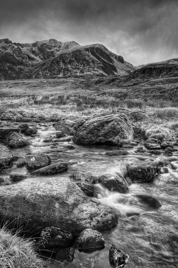 Snowdonia Photograph - Snowdonia North Wales by Andy Astbury