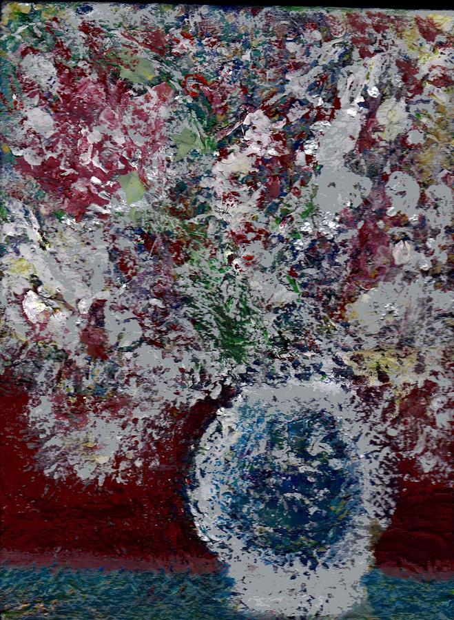 Snow Painting - Snowglobe Gone Wild by Anne-Elizabeth Whiteway