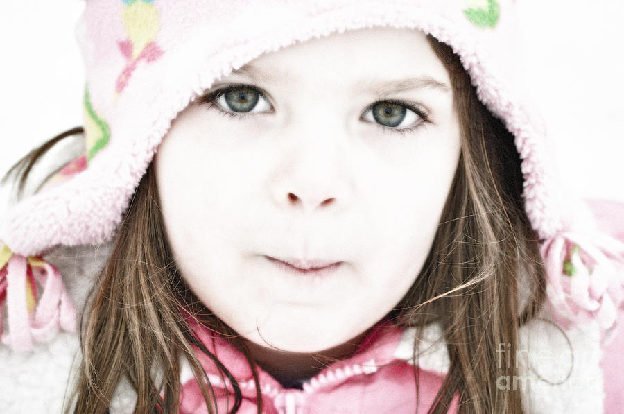 Snow Photograph - Snowy Innocence by Gwyn Newcombe