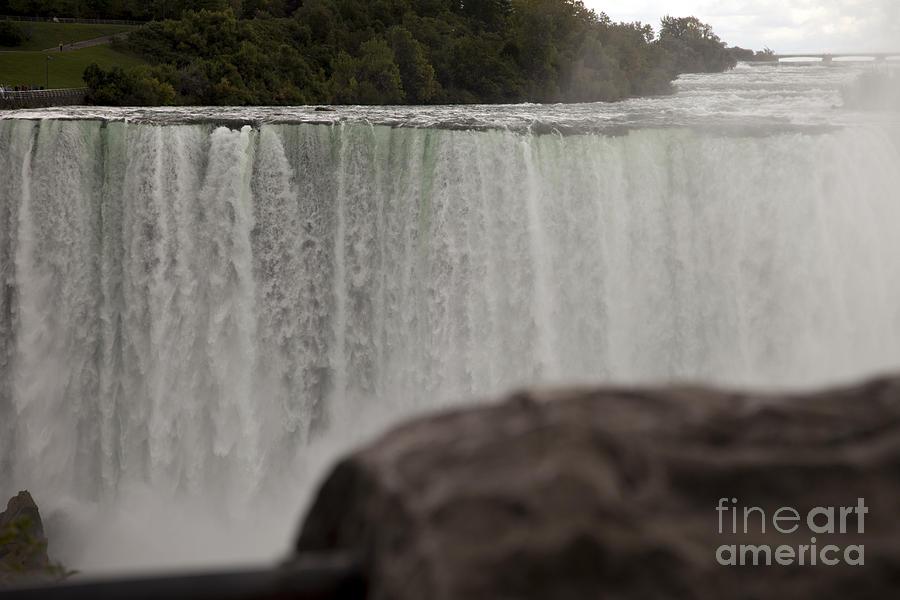 Niagara Photograph - So Close And So Far by Amanda Barcon