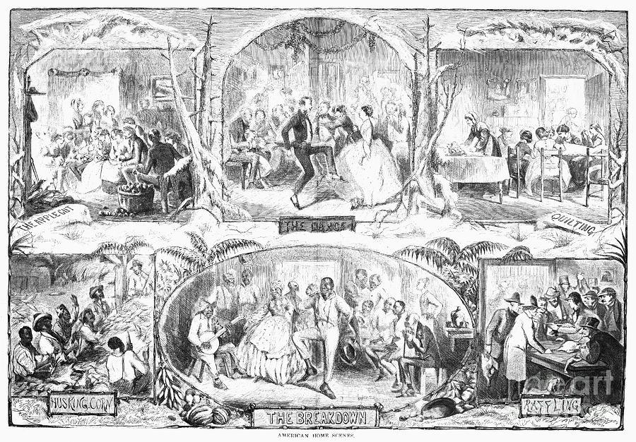 1861 Photograph - Social Activities, 1861 by Granger