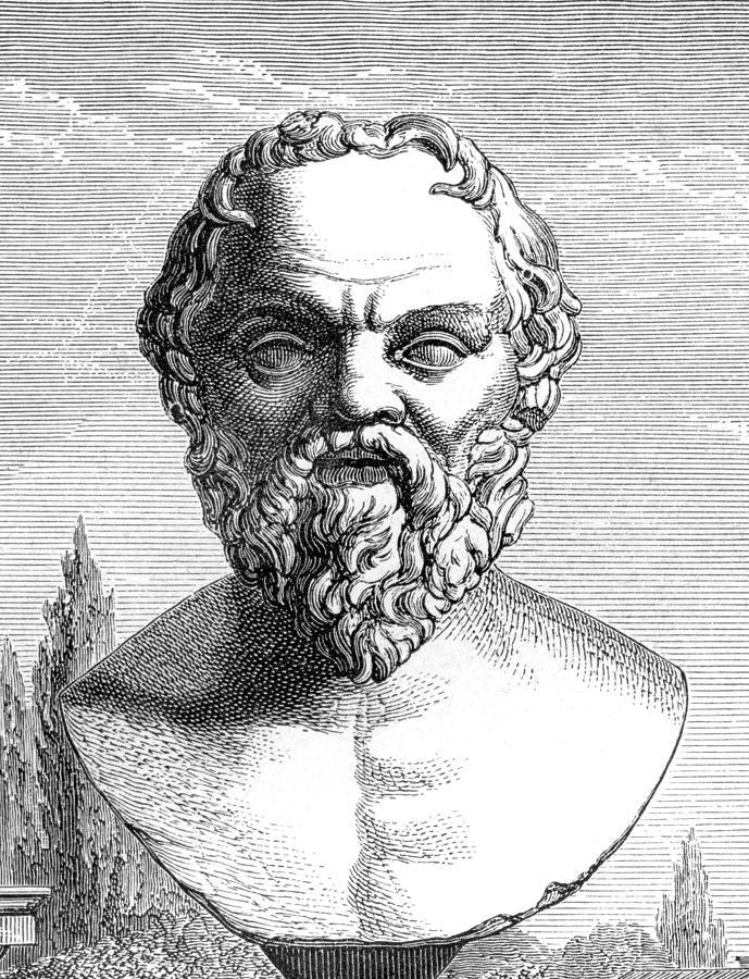 Socrates Photograph - Socrates, Ancient Greek Philosopher by