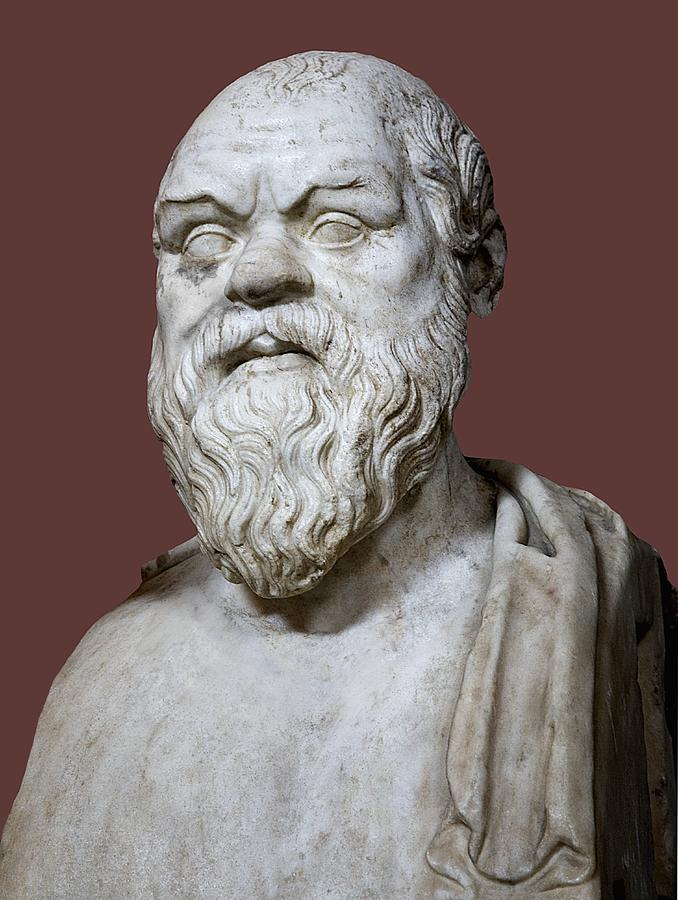 5th Century Bc Photograph - Socrates by Sheila Terry