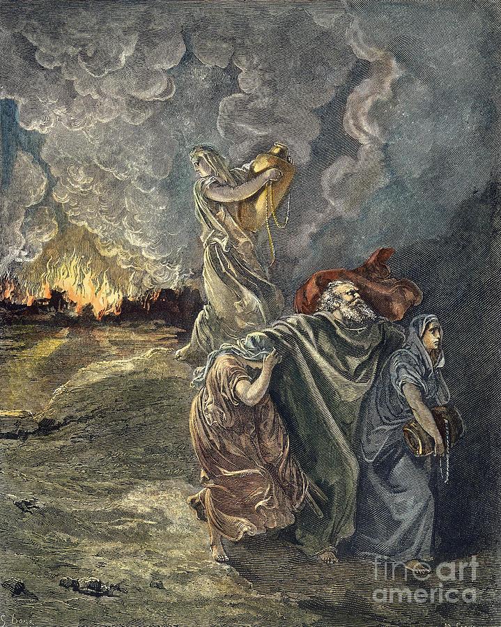 Sodom & Gomorrah Photograph by Granger