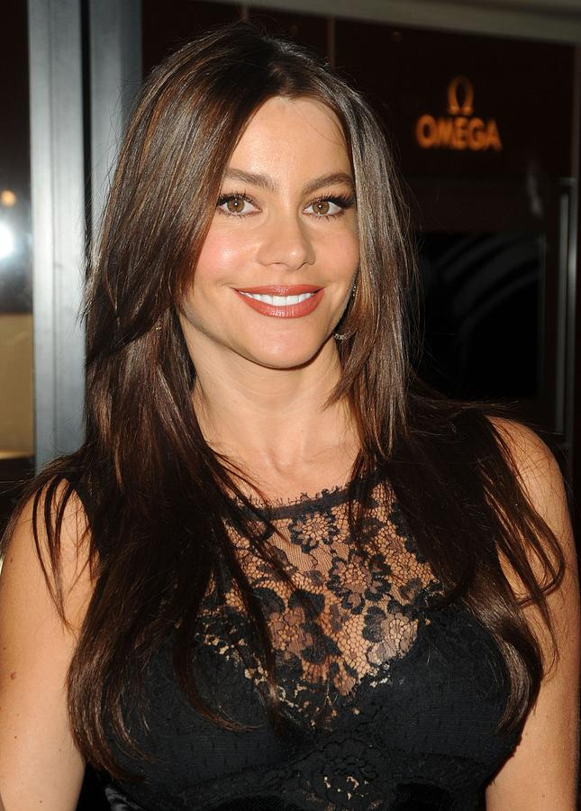 Grand Opening Photograph - Sofia Vergara At A Public Appearance by Everett