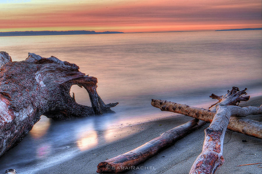 Summer Photograph - Soft Waves by Sarai Rachel