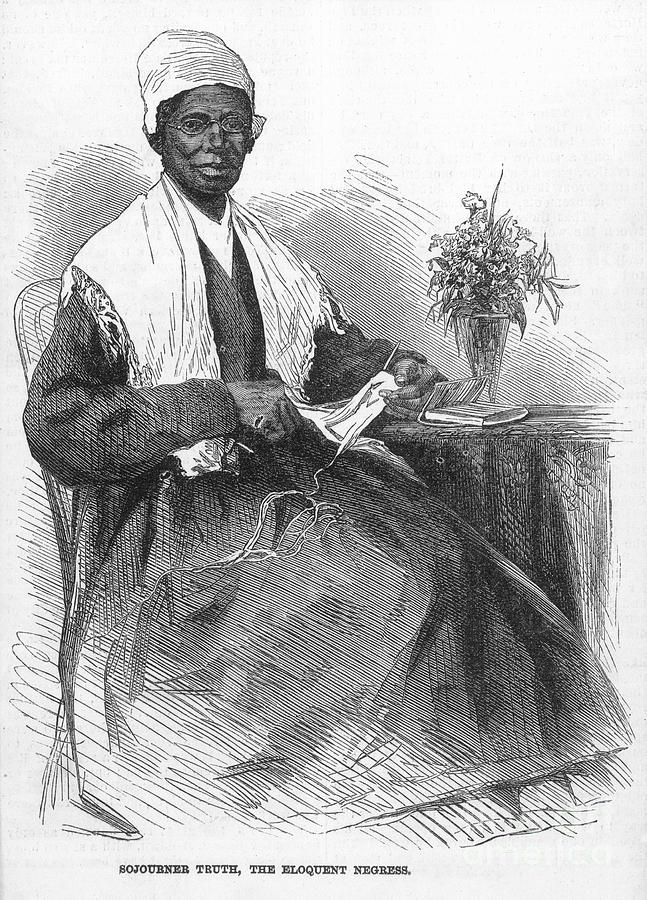 1864 Photograph - Sojourner Truth (d.1883) by Granger