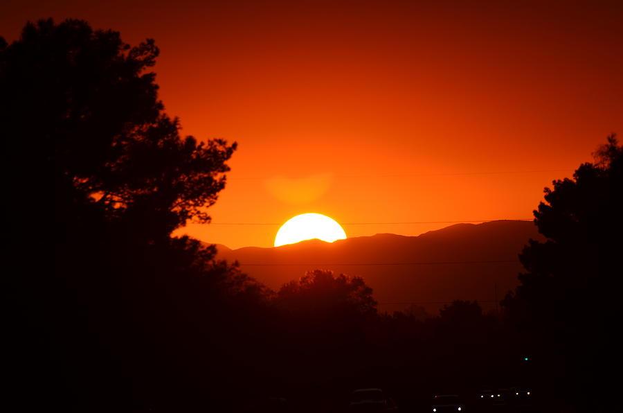 Sunset Photograph - Sol by Alberto Sanchez
