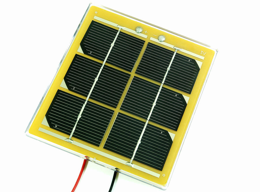 Technology Photograph - Solar Cell by Friedrich Saurer