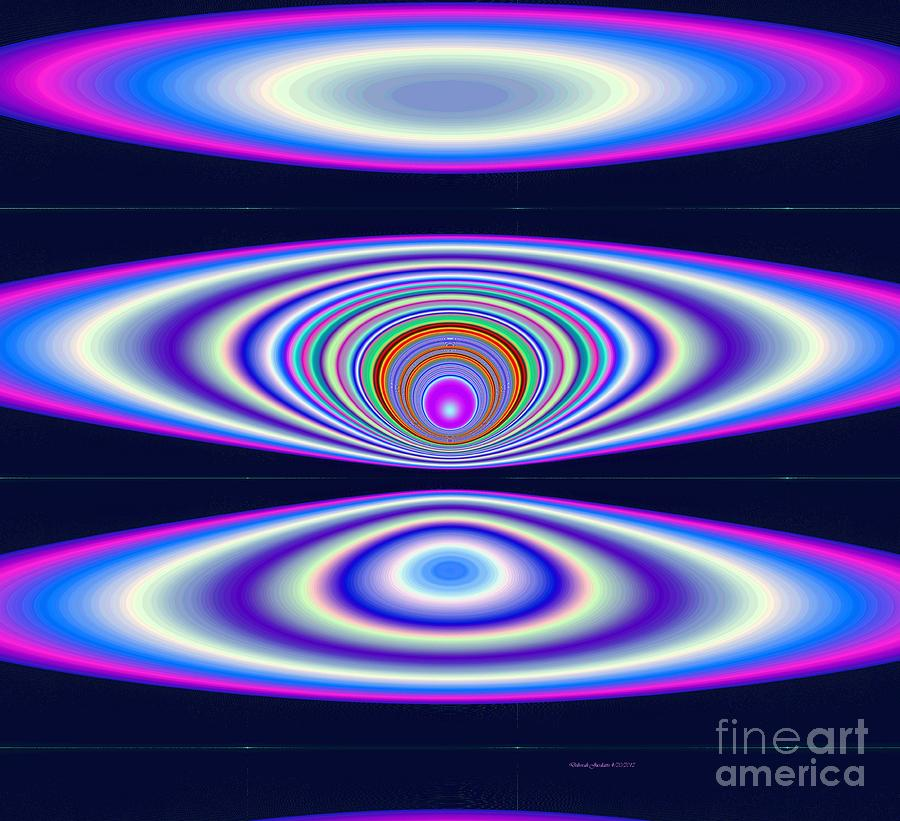 Solar Cycle Digital Art - Solar Cosmic Cycle by Deborah Juodaitis