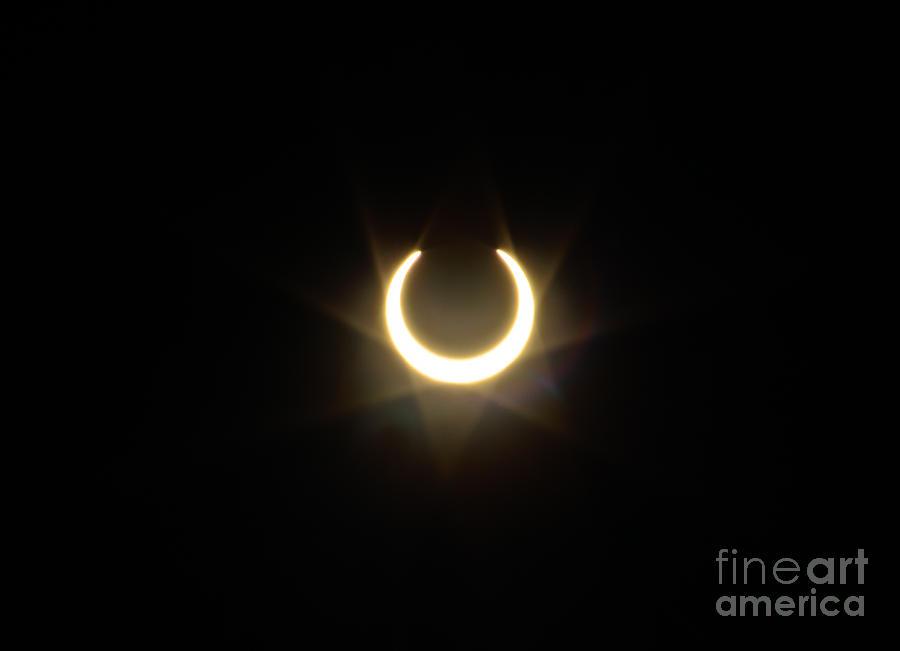 Solar Eclipse Photograph - Solar Eclipse 5 by Mitch Shindelbower