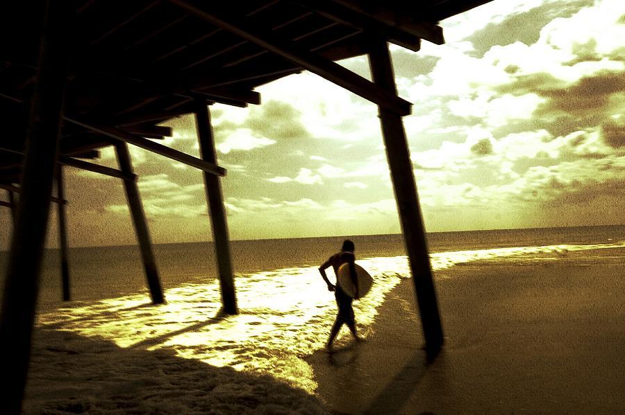 Beach Photograph - Solar Surf by Jan Lakey