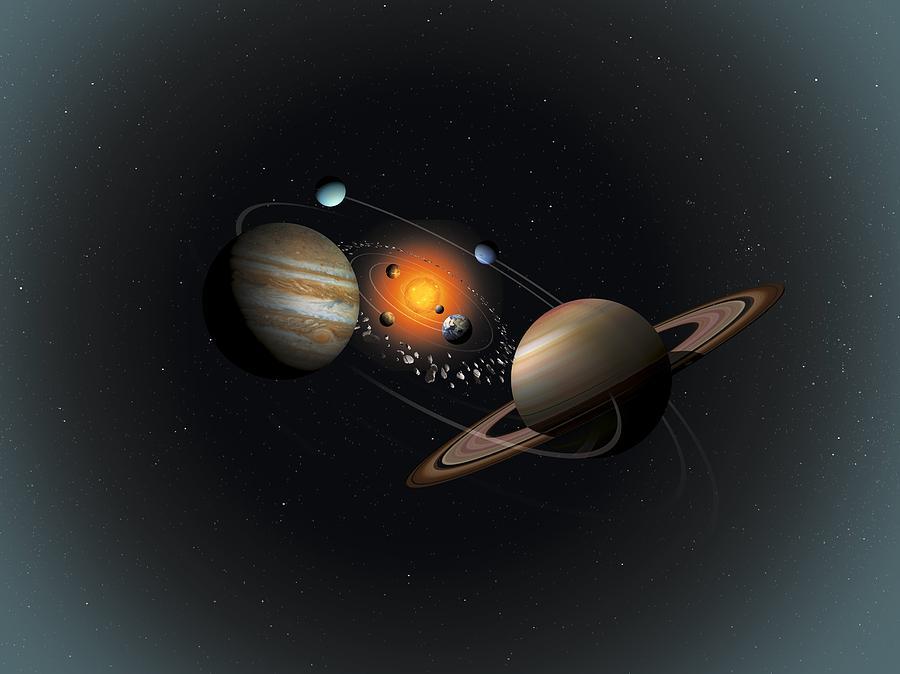 Картинки космические корабли солнечная система