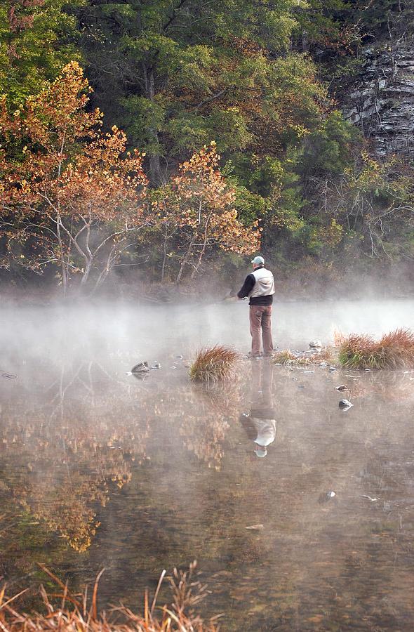 Fall Photograph - Solitude by Cindy Rubin