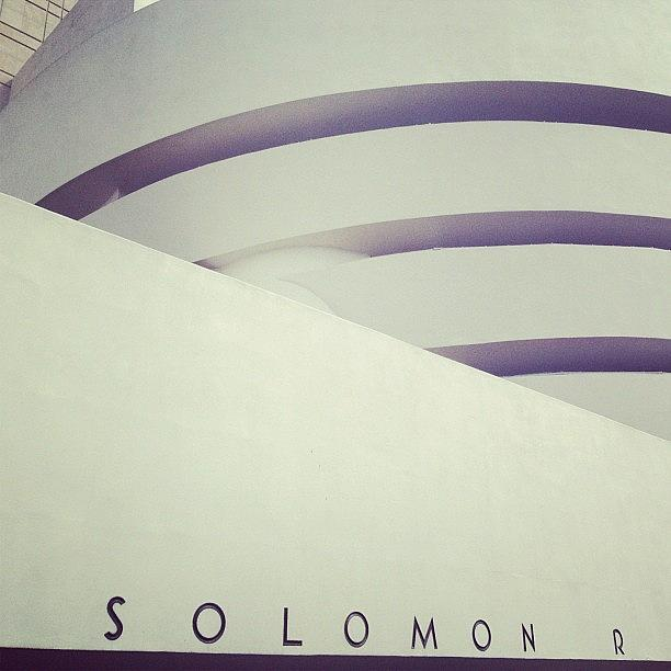 Solomon R. Guggenheim Photograph by Randy Lemoine