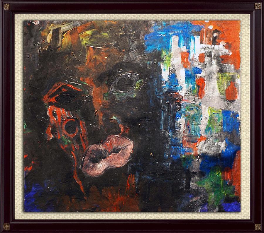 Somalia  Painting by Aneesh Jacob
