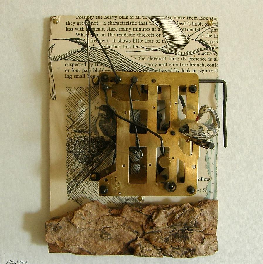 Mixed Media Mixed Media - Some Choose Land Others The Sea by Karen Malcolm