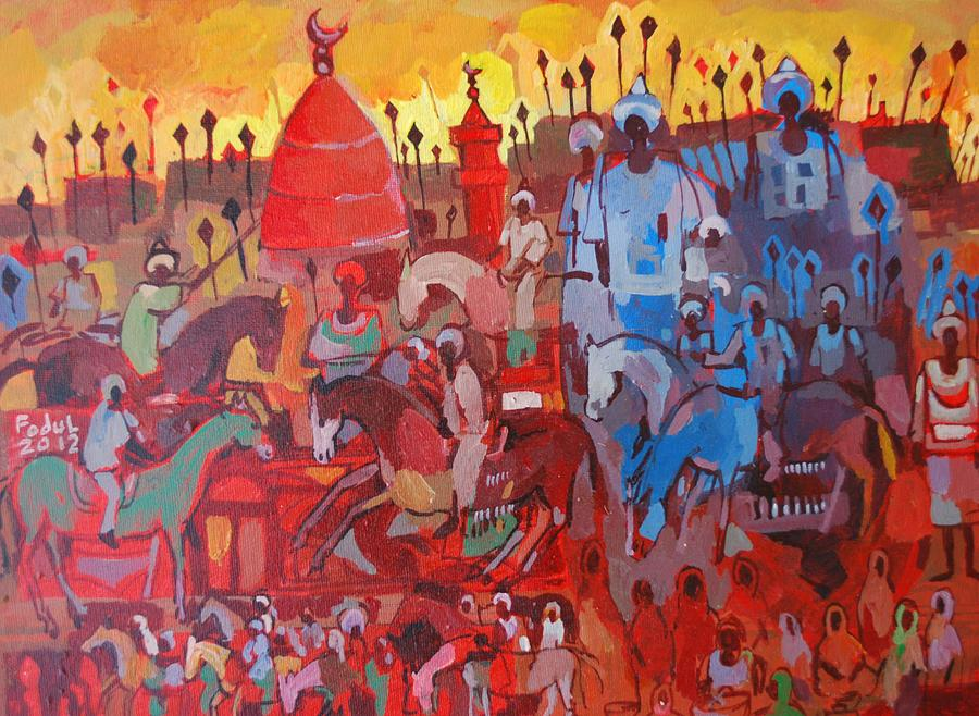 Some Of The History1 Painting by Mohamed Fadul