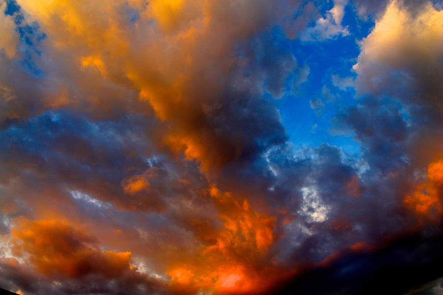 Sunset Photograph - Something Wicca This Way Comes by Alexander Martinez