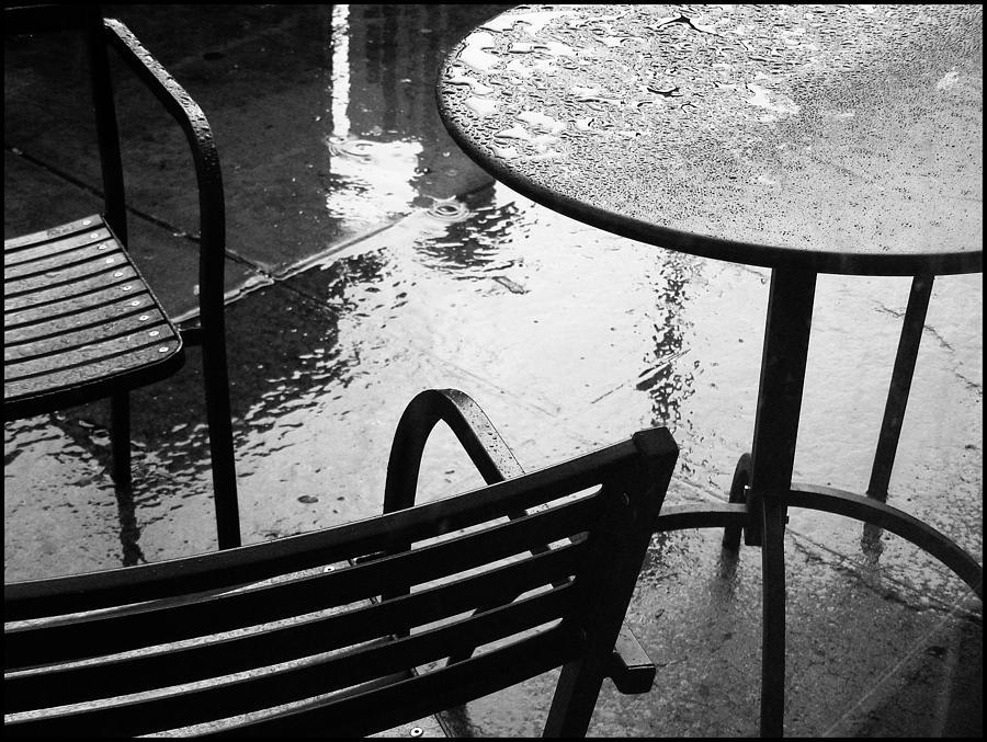 Rain Photograph - Sometimes It Rains by Anne McDonald