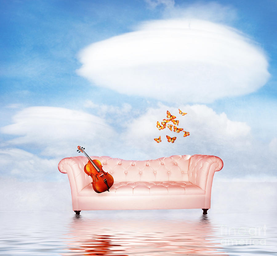 Surrealism Photograph - Sometimes...all I Need by Jacky Gerritsen