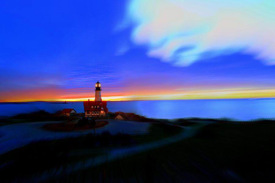 Portland Head Light Photograph - Somewhere Between Asleep And Awake by Rick  Blood