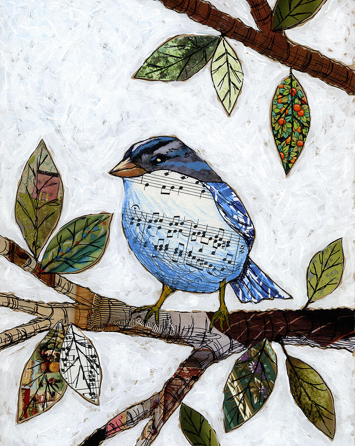 Birds Painting - Songbird by Amy Giacomelli
