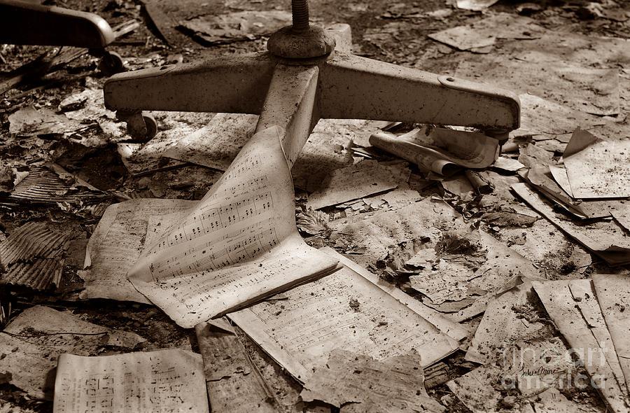 Abandoned Photograph - Songs Of Silence by Luke Moore