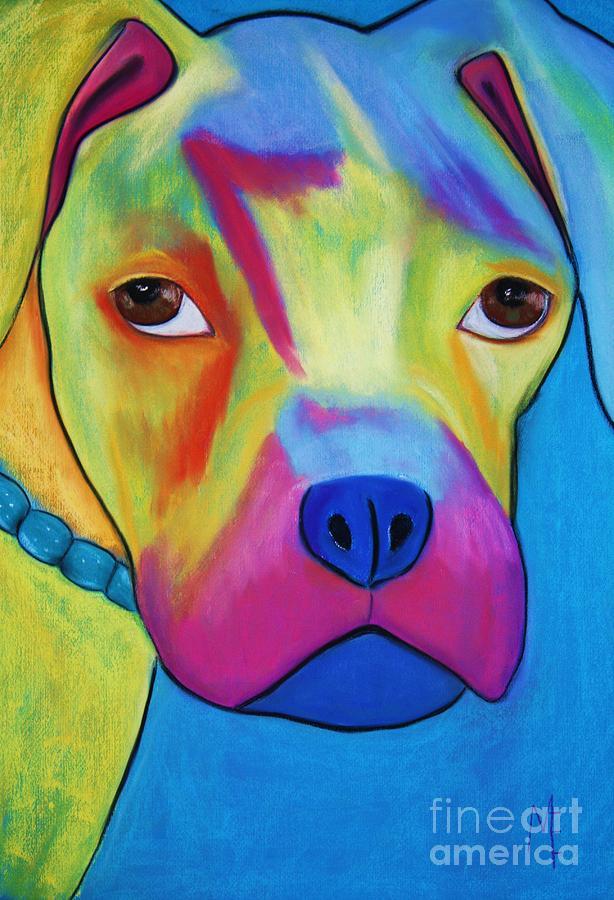 Dog Painting - Sonny Blu by Melinda Etzold