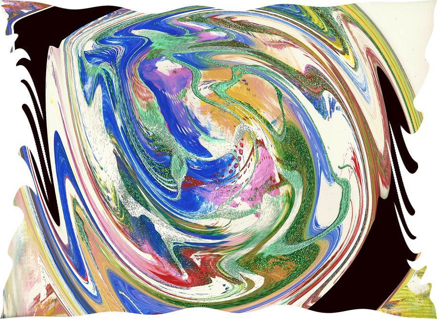 Abstract Digital Art - Sonogram by Ginger Lovellette