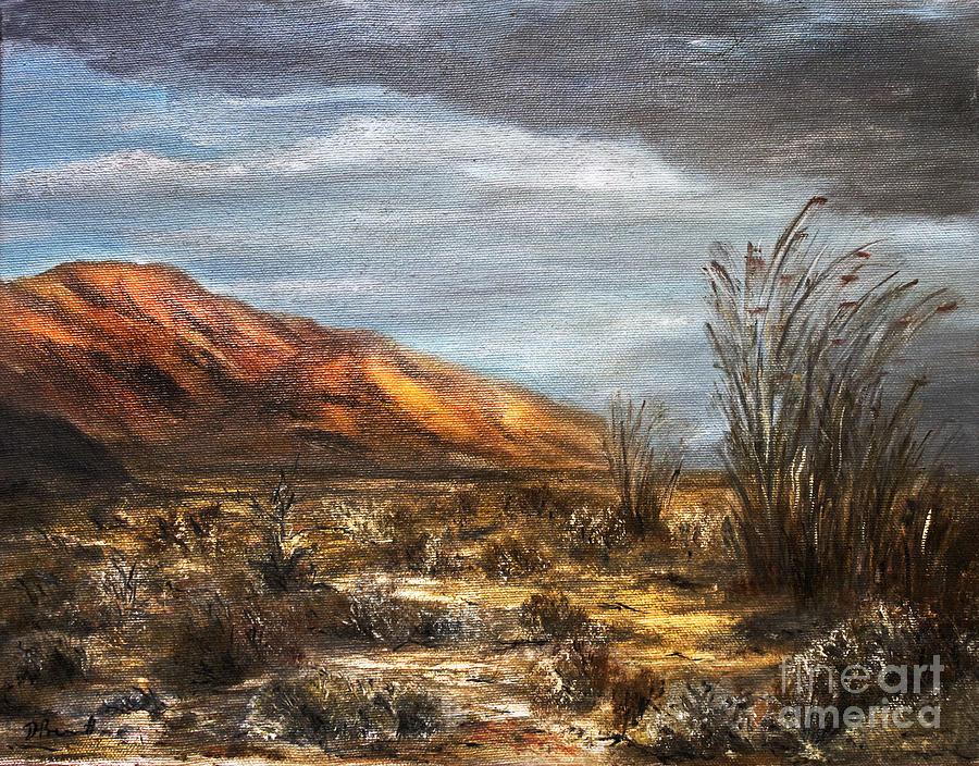 Sonora Desert Canvas Prints Painting - Sonora Desert by Danuta Bennett