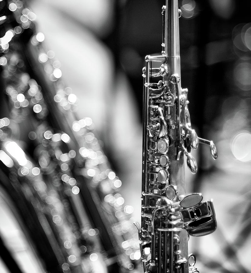Vertical Photograph - Soprano Saxophone by © Rune S. Johnsson