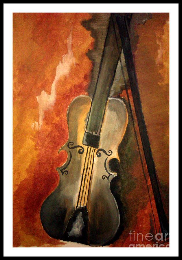 Soul F Music. Painting by Deepak Kodapally