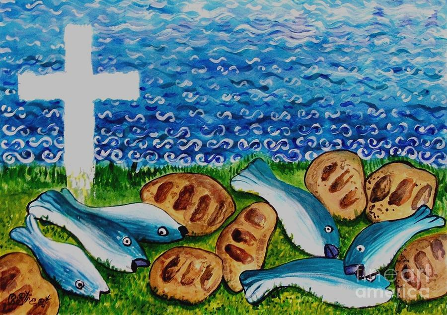 Christian Symbolism Painting - Soul Food by Caroline Street