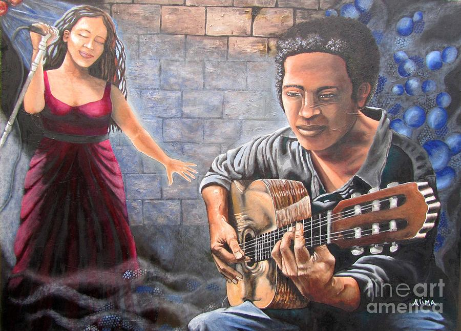 Soul Music Painting By Alima Newton