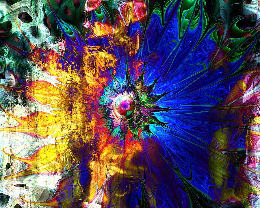 Fractals Digital Art - Souls United by Amanda Moore
