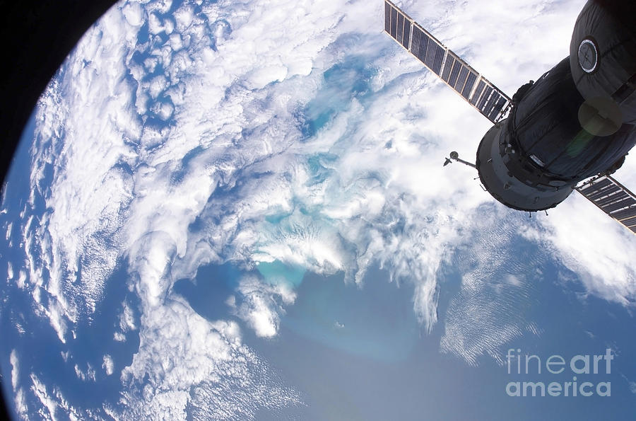 Color Image Photograph - South Atlantic Plankton Bloom by Stocktrek Images