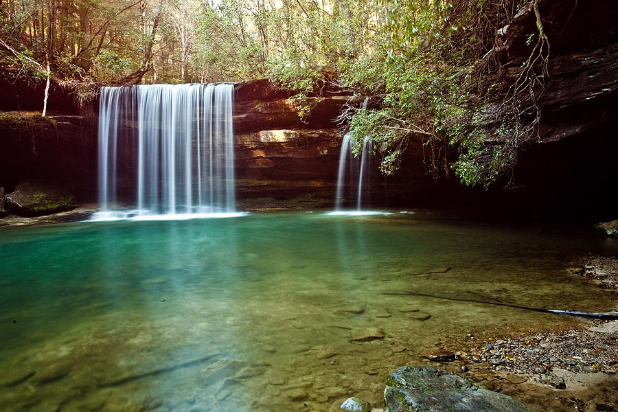 Bankhead National Forest Photograph - South Caney Falls by Benjamin King