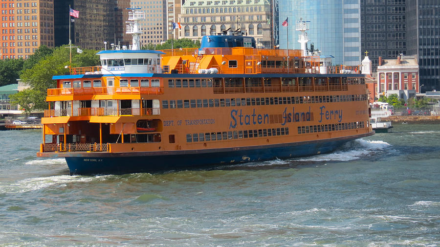 South Ferry Photograph - South Ferry Water Ride1 by Terry Wallace