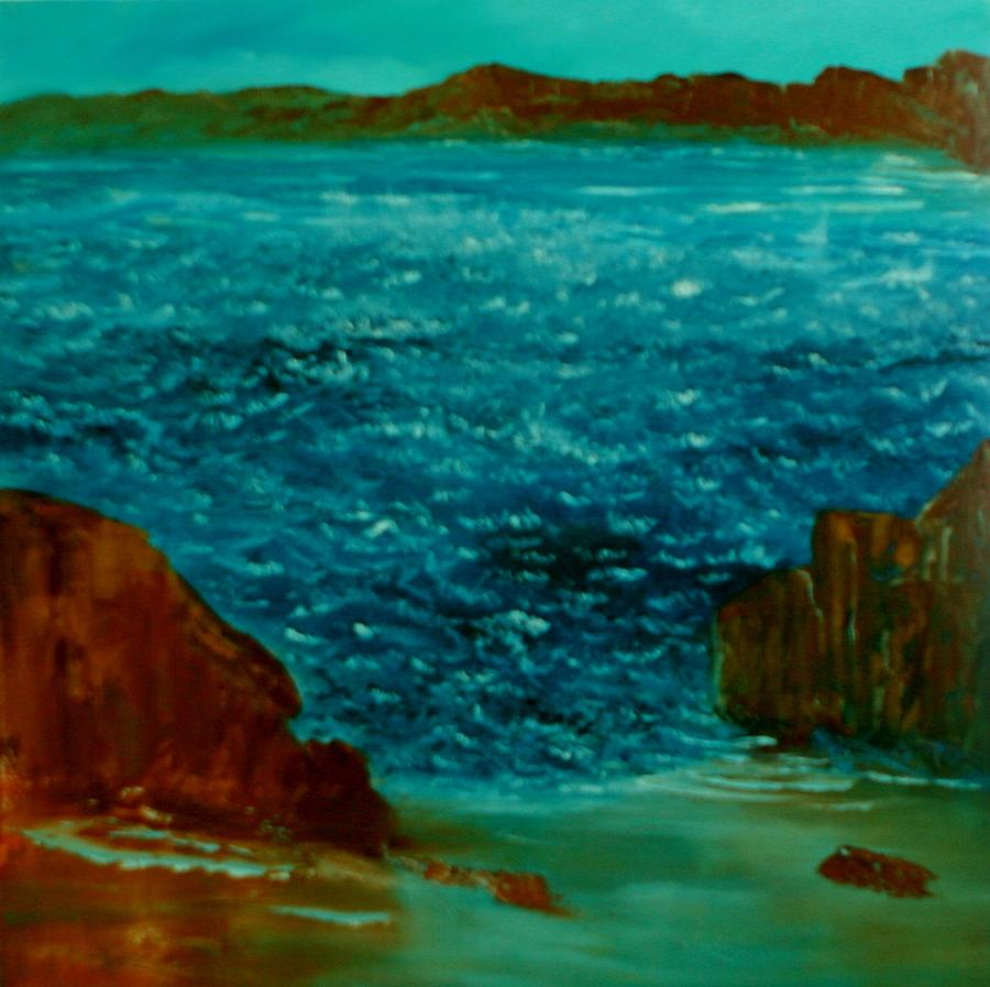 Seascape Painting - South Sea by David Snider