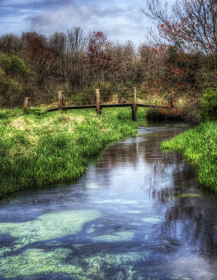 Spring Photograph - Southards Pond In Spring by Vicki Jauron