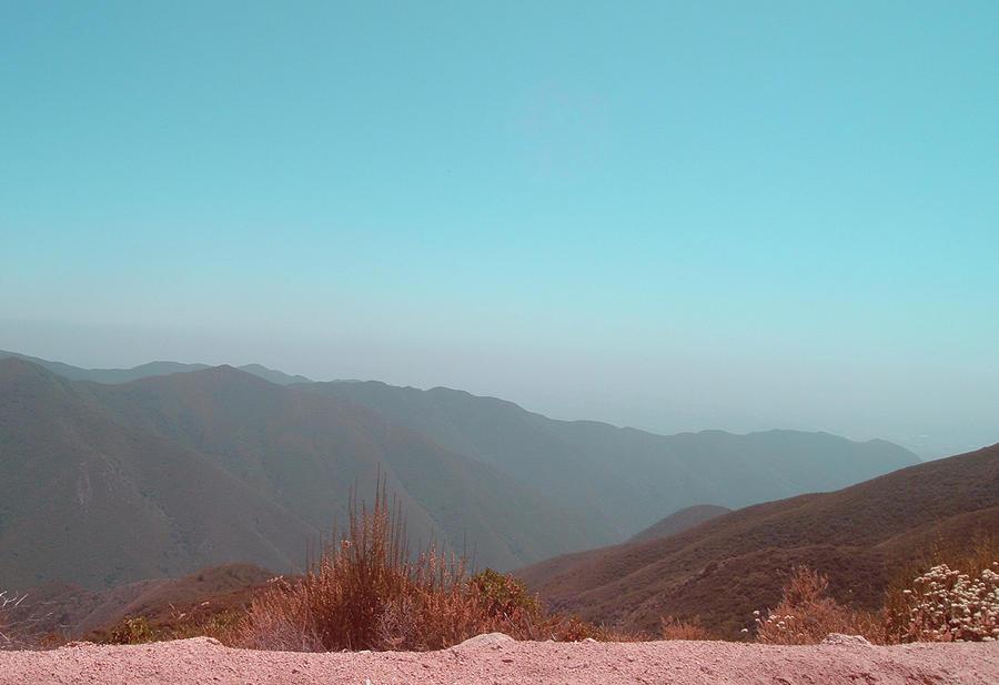 Nature Photograph - Southern California Mountains 2 by Naxart Studio