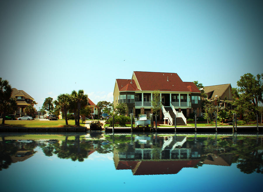 Homes Photograph - Southern Living by Barry Jones