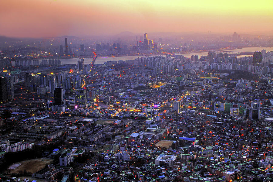 Southside Of Seoul Photograph By Thomas Ruecker