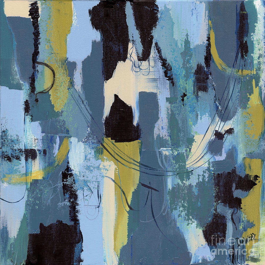 Abstract Painting - Spa Abstract 1 by Debbie DeWitt