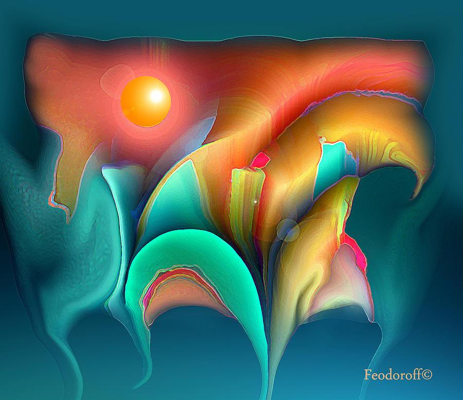 Space Digital Art - Space Art 001 by Luminita Feodoroff