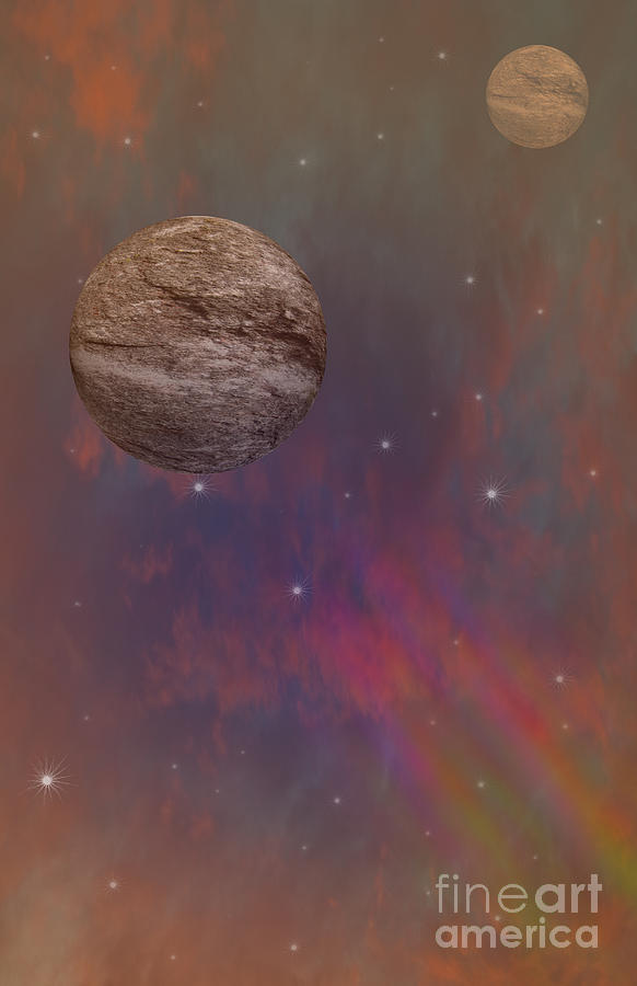Outer Space Digital Art - Space by Brian Roscorla